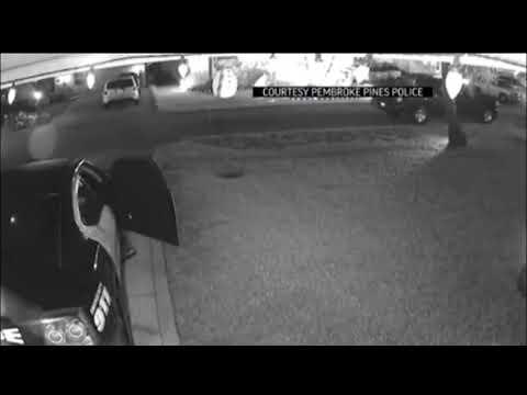Man steals rifle, stun gun and ammo from Pembroke Pines Florida Police car