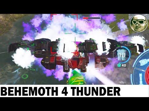 BEHEMOTH 4 THUNDER MAX GAMEPLAY WAR ROBOTS REMASTERED