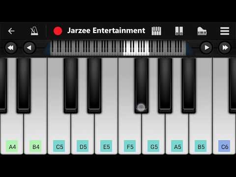 Bom Diggy Diggy Piano | Zack Knight | Jasmin Walia | Mobile Perfect Piano Tutorial