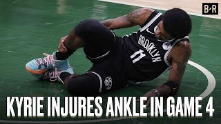 Kyrie Irving Exits Game 4 With Ankle Injury