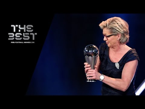 THE BEST FIFA WOMEN'S COACH AWARD 2016 - Silvia Neid WINNER