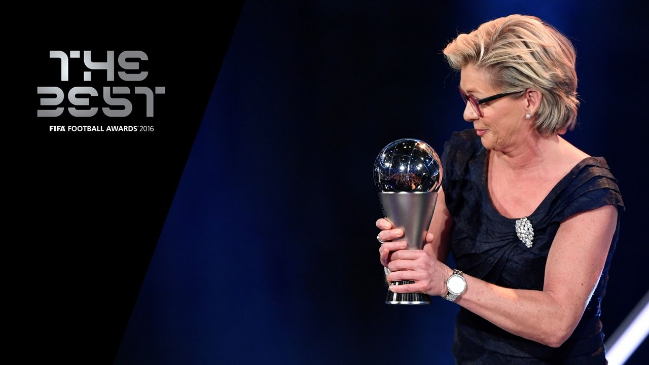 Image result for Silvia NEID PIC TO receive fifa award of the year 2016