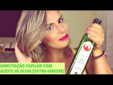Umectação Capilar com Azeite de Oliva (Extra Virgem)