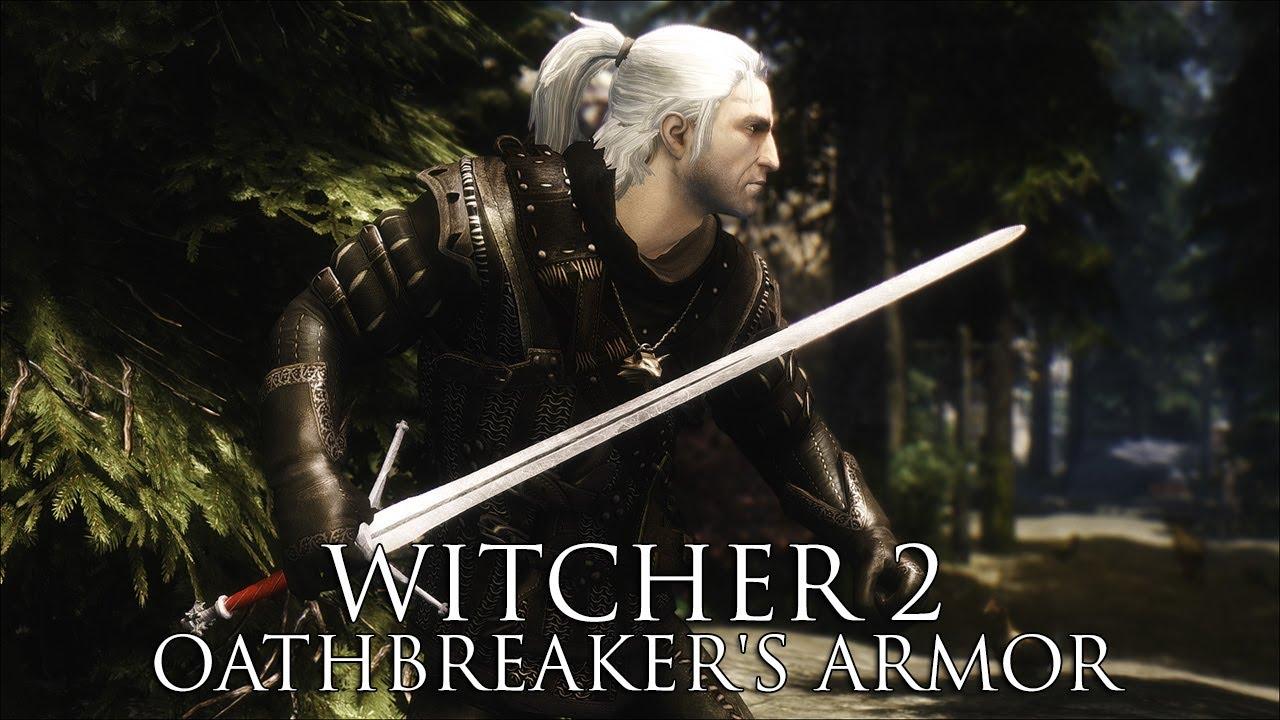 TES V - Skyrim Mods: Witcher 2 Oathbreaker's Armor