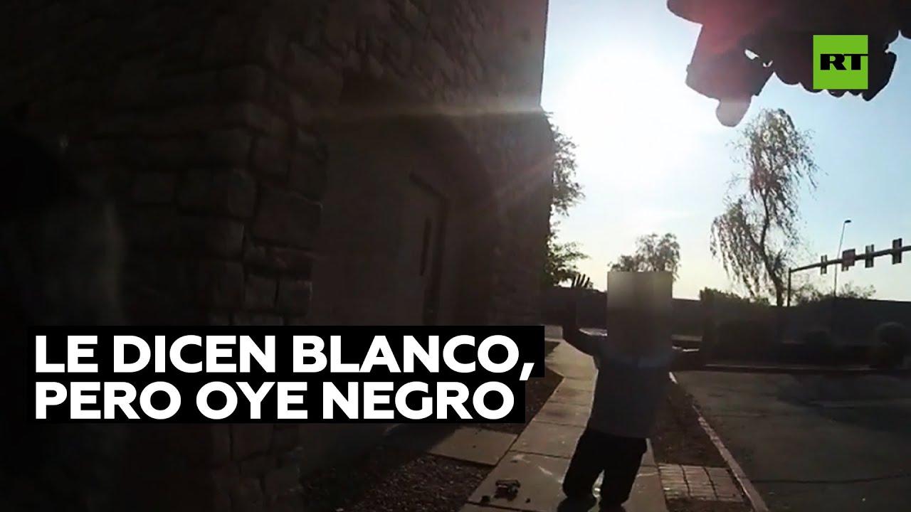 Un policía buscaba a un hombre blanco, pero detiene a un afroamericano