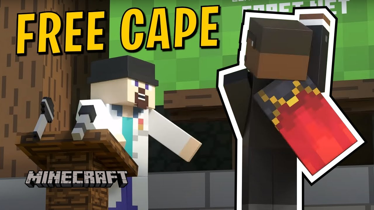 Free Cape In Minecraft Minecraft Java Edition Account Migration Youtube