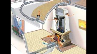 Каминное воздушное отопление. Установка каминов для отопления.(Если Вы заинтересованы в экономном и эффективном отопление своего дома камином - звоните нам по тел: (097)..., 2016-01-11T15:38:55.000Z)