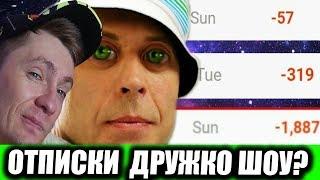 ОТПИСКИ ДРУЖКО ШОУ/ АНОМАЛЬНЫЙ СЕРГЕЙ ДРУЖКО / CRISP / РЕАКЦИЯ