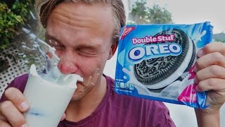 IMPOSSIBLE OREO TRICK SHOTS!