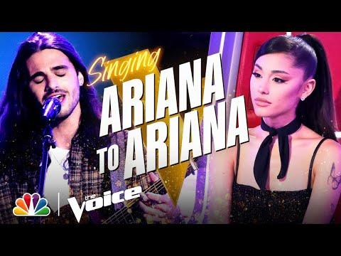 David Vogel Adds Some Rock to Ariana Grande's