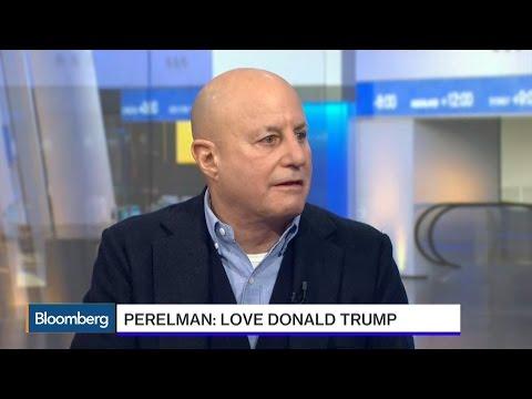 Perelman: I Love Donald Trump, He's a Good Friend