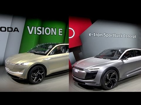 Volkswagen Media Night @ Auto Shanghai 2017 - Skoda Vision E