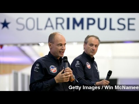 Solar Powered Plane To Make First Trip Around Globe