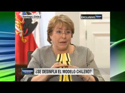 'Exclusiva con Michelle Bachelet' Oppenheimer Presenta  1438