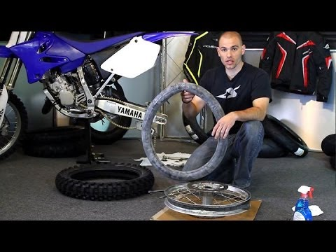 How To: Change a Dirt Bike Tire   Motorcycle Superstore