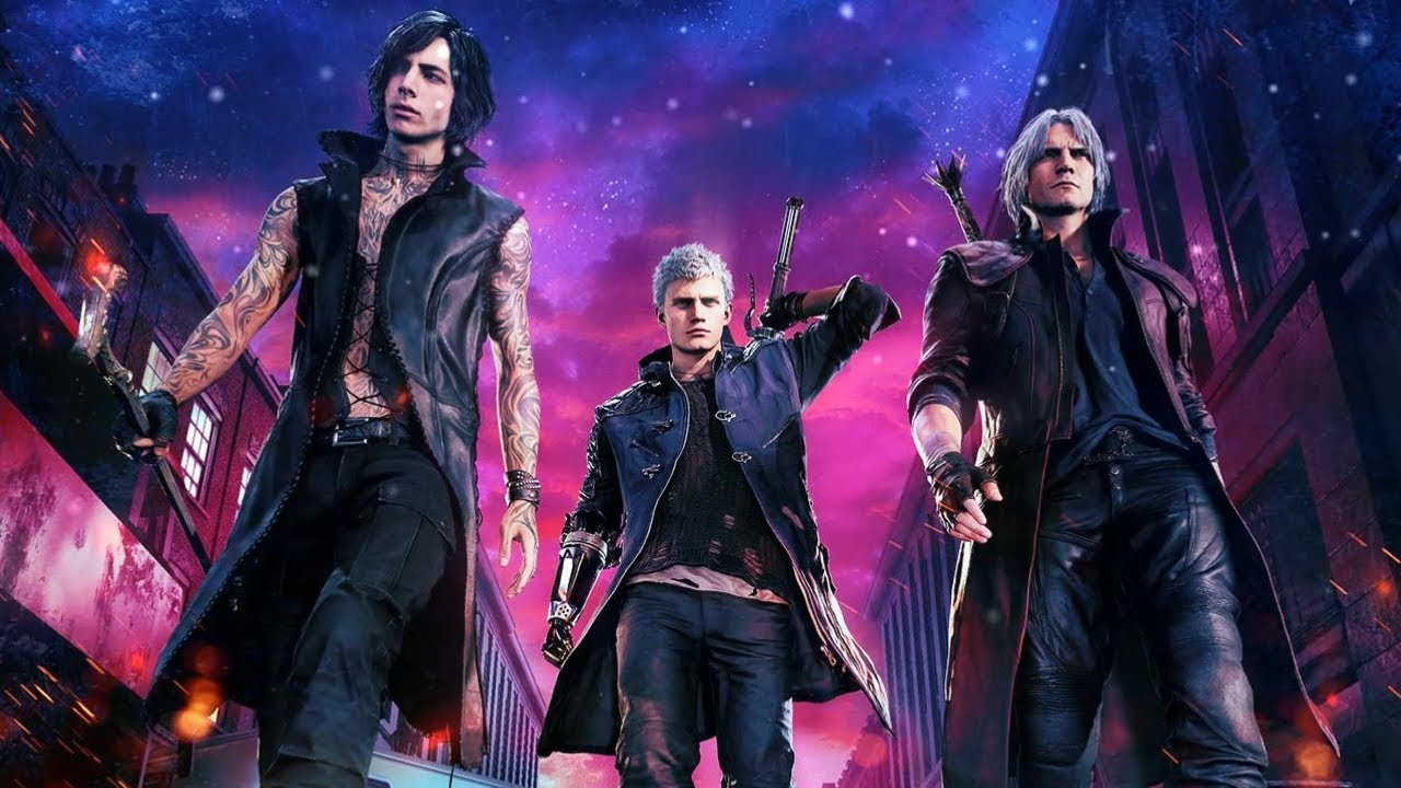 Wallpaper Engine Devil May Cry 5 Theme Front View Youtube