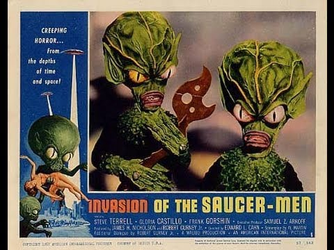 Invasion of the Saucer Men is listed (or ranked) 18 on the list The Best Horror Movies of 1957