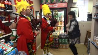 The Absurdist Pipe Band. The Tobacconists