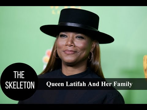 Queen Latifah And Her Family