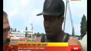 Abdul Kader Keita Galatasaray idmanını ziyaret etti.
