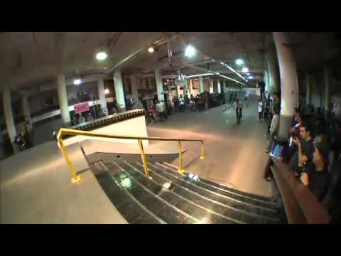 Chad Kerley Vitamin Water BMX Invitational 2012 (Obstacle 3