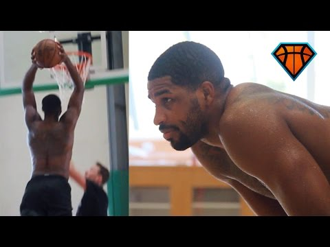 Tristan Thompson Is ELEVATING His Offensive Game!! | Off-Season Workout With #RemyWorkouts