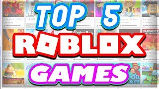 Top 5 BEST Roblox Games EVER CREATED ..