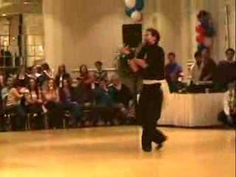 TOM MICKERS DANCING AT BOSTON LINEDANCE SHOWDOWN 2006