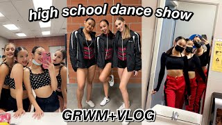 GRWM+VLOG: DANCE SHOW *high school team* | Nicole Laeno