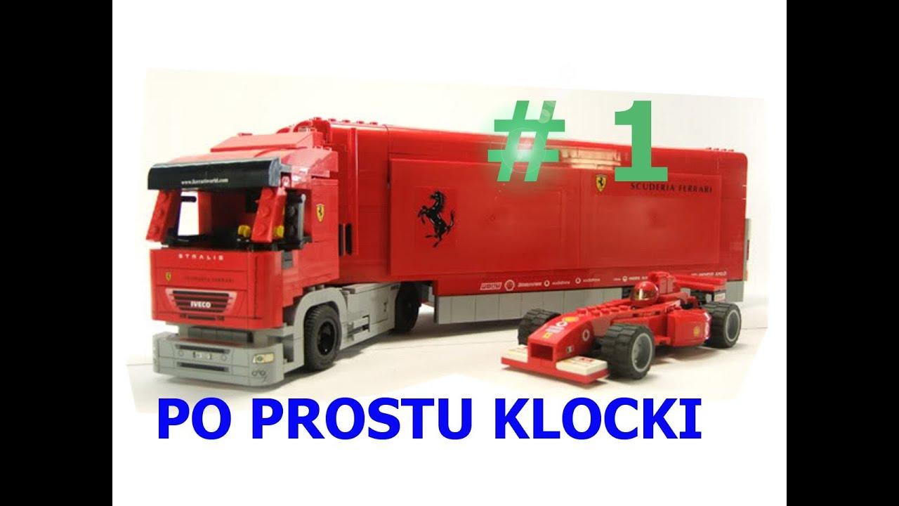 lego racers scuderia ferrari truck 8654 pl youtube. Black Bedroom Furniture Sets. Home Design Ideas