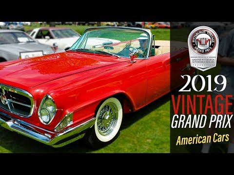American Cars at the Pittsburgh Vintage Grand Prix 2019