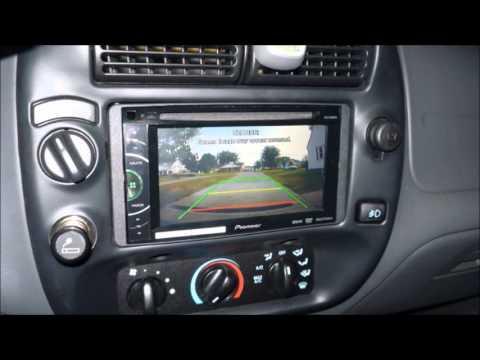 Ford Edge Backup Camera  Ranger Blackie Pioneer Avhdvd Youtube