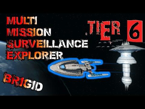 Multi-Mission Surveillance Explorer [T6] – Brigid Class – with all ship visuals - Star Trek Online