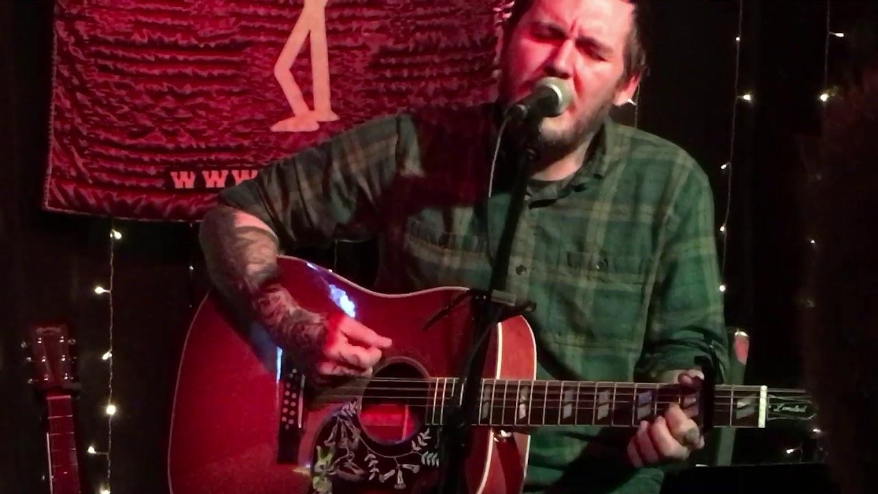 Brian Fallon Live - The Blues Mary - Crossroads Garwood NJ - 12/14/18