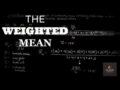 Episode 7: The Weighted Mean