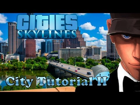 Cities Skylines - How to buildings upgrade with Public Service - No Unlimited Money no Mods
