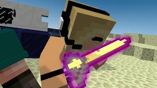 Minecraft Song: ♫Girls and Secrets♫ Superheros 5 Minecraft Animations and Music Video Series!