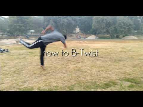 Tricking B-twist tutorial | how to B-twist