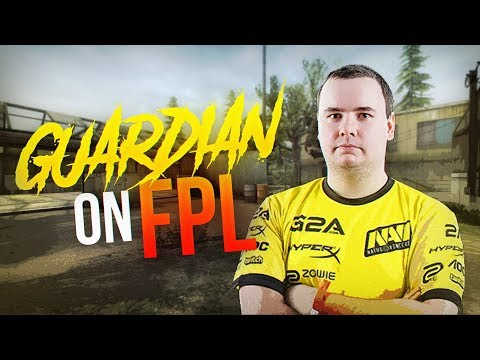 CS:GO - GuardiaN playing FPL after joined FaZe Clan (Highlights)