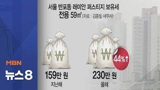 보유세 폭탄 현실로?…강남 전용 59㎡가 종부세
