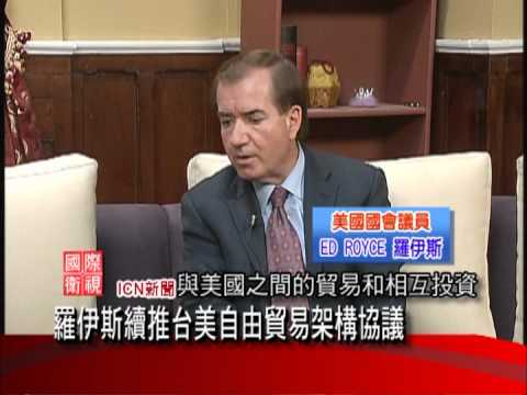 Ed Royce Interview by ICN TV Network