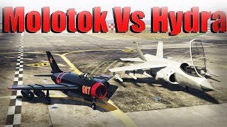 Gta 5 Online | V-65 Molotok Vs Hydra - Which Is The Best Aircraft - Speed, Armor, And More