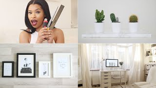 3 Easy Home Office/Room DIYs + TOUR! | DIY & INTERIOR Thumbnail
