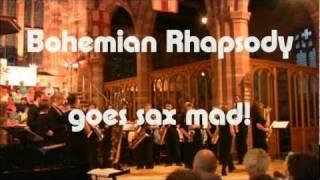 Bohemian Rhapsody Goes Sax Mad!