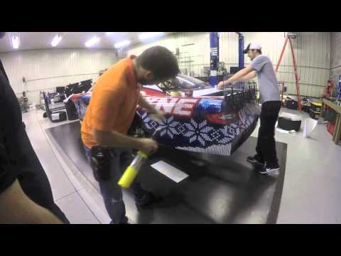 3 Ross Kenseth Snowball Derby 2014 Ugly Christmas Sweater Youtube