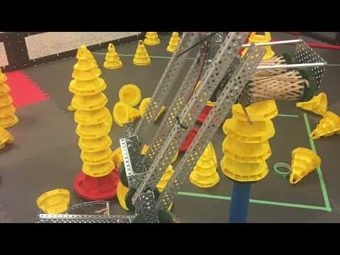 VEX 2017-2018 In The Zone Robot Overview and Retrospective