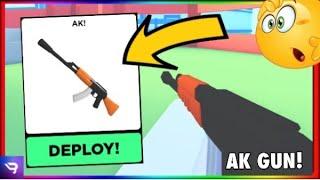Gambar cover AK GUN *Review* ! IS IT GOOD? | Big Paintball (ROBLOX)