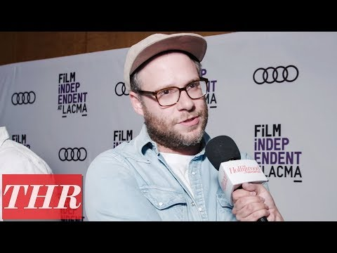 Seth Rogen, Evan Goldberg & Sam Catlin on the 'Preacher' Red Carpet   THR