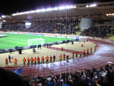 Monaco - Zenit, Champions League hymn