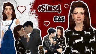 The Sims 4 I CAS - Mody I 💘 Adam & Ellie 💘 (Zakazana miłość)